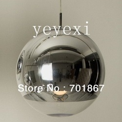 Free shipping modern lamp Dia 15cm Tom dixon Pendant lighting Mirror Ball light(China (Mainland))