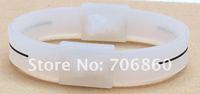 PB Power Bracelet Silicone Bracelet Band Balance Energy Health Wristband No Box 20pcs/lot