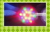RGB PAR56 LED pool light 12*3W Edison,remote control,W/R/G/B,thickness glass,AC12V,IP68 waterproof ,2pcs/lot, CE RoHS, DHL free