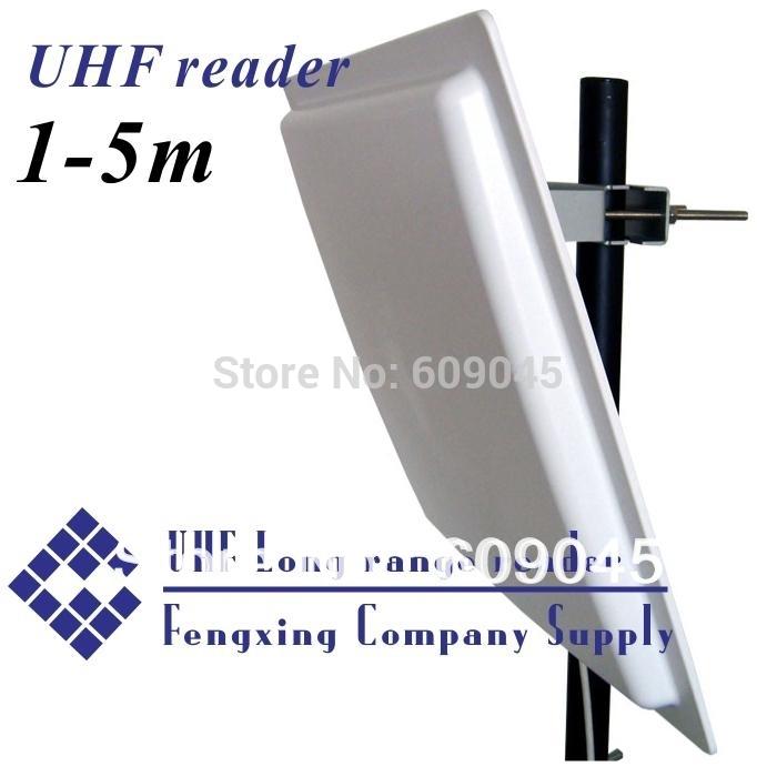 Uhf long range reader 1-5m( RS232/485 wiegand) +free sdk +free card+free versand