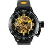 Free Ship , Hot sale New  Militare Skeleton 50mm Stailness steel Mens Jumbo  automatic mechanical WristWatch