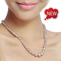 Top quality Pearl Jewelry Necklace, AAAA 4.5-9.5mm Freshwater Pearl Necklace, Fine Pearl Necklace Jewelry, Mother's Day Gift