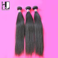 Queen hair products Free Shipping Malaysian virgin hair straight Human hair weave Mix 3pcs/lot  malaysian hair bundles