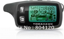 Two way car alarm LCD remote Controller For Tomahawk TW9010