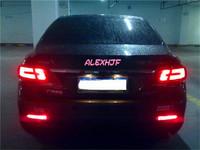 Car LED brake light, LED rear fog light case for Toyota 2009~ON Camry, REIZ 2010~ON, E'Z 2010~ON, AYGO 2015+, Matrix 2009 etc