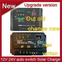 New Upgrade version 10A, Solar Charge Controller, Regulator 12V 24V auto switch,free shipping
