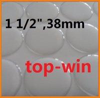 "2000pcs clear epoxy dome stickers epoxy dots 1 1/2"" 38mm free shipping"