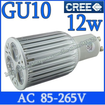 2pcs CREE GU10 GU5.3 6W 9W 12W High Power LED Light Bulb Downlight spot Lamp Cool Warm white Globes Energy Saving=70W