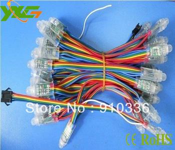 12mm WS2801 pixel module,IP66;DC5V input;full color