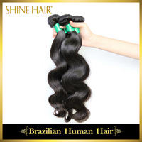 Top Quality Human Hair Weaves Brazilian Virgin Hair Body Wave Rosa Hair Products,3Pcs 6A Brazilian Body Wave Free Shipping