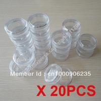 Free Shipping 20pcs per lot 10g cosmetic cream jar,cosmetic refillable jar good for trial samples