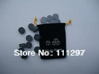 Whiskey disk with velvet bag,9pcs/set,whiskey disc stone Great gift Freeshipping+Wholesale