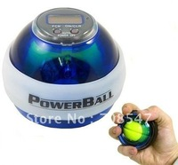 Power Gyroscope LED Wrist Strengthener Ball+SPEED METER/ Power Grip Ball/ Power Ball china post