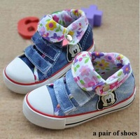 European size 23-35 children canvas shoes kids shoes children sneakers for boys and girls shoes classical 172 jeans