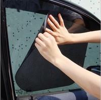 Car glass sun shade/sun shade stickers electrostatic stickers sun curtain/insulation curtain/Free shipping/Wholesale+Retail