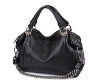 Kinmac 100% genuine leather bag Crocodile embossed Designer Chains Tote women messenger bags Purse Satchel Shoulder handbag