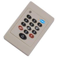 RFID/EM Keypad Access Control Reader    125KHz Reader    Keypad Wiegand 26 Reader Waterproof With door bell button