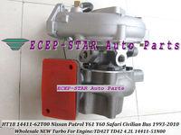 HT18 14411-62T00 14411-51N00 Turbo Turbine Turbocharger For NISSAN Patrol Safari Civilian bus Y61 Y60 4.2L 1993-2010 TD42T TD42