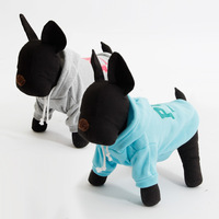 2014 New Arrival Dog Winter Clothes Pet Warm Apparel Dog Suitable Fleece Warm Pet Hoodie Apparel 2Colors Mix Sizes Free Shipping