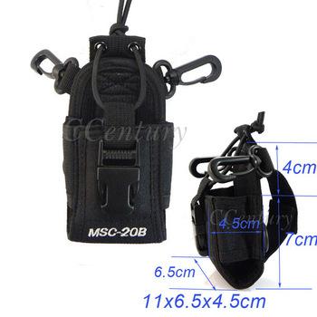 2pcs MSC-20B Portable Radio Case for Baofeng UV-5R Plus UV-5RE Plus UV-5RA Plus Yaesu Vextex Icom CB Transceiver TYT TH-F8 New