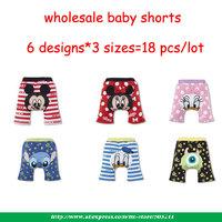 Cotton summer baby girls knickers animal print infant shorts boy Busha Brand toddler elastic waist shorts girls petti bloomer