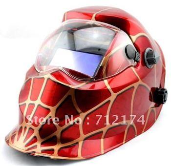 """Spider 4 1/3"""" x 3 1/2"""" Solar Auto Darkening Welding Helmet Arc Tig Arc MAG Mask"""