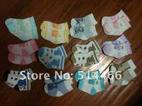 10Pairs/LOT Children Cute Cartoon Animal Cotton Short Socks Cartoon Infant Baby Boy Girl Sock Kids Socks Multicolor