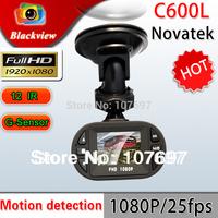 C600 Car DVR Mini Size Full HD 1920*1080P 12 IR LED 140degree A+ Lens with G-sensor Car Vehicle CAM Video Camera Recorder