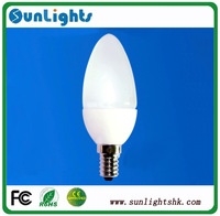 Free Shipping e14 led candle lights 4W smd 5630 110V-240V lamp, 3w smd 2835 220-240V led candle bulbs