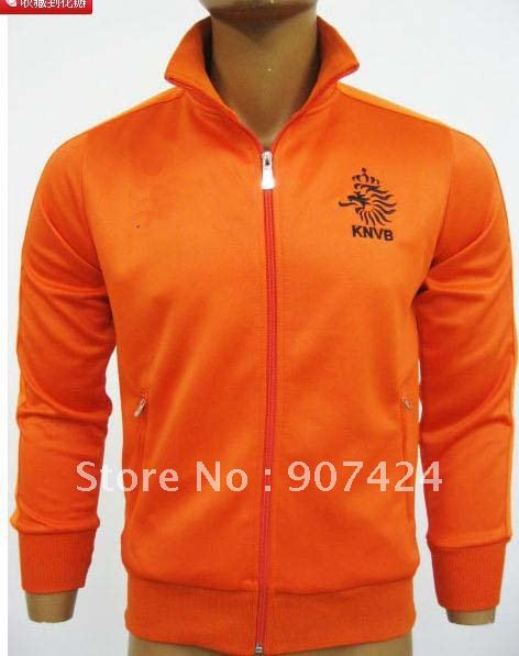 Free shipping 11-12 Netherlands, the Thai version of the Orange, football training apparel jacket, admission service(China (Mainland))