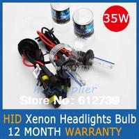 35w AUTO HID XENON BULBS Xenon Car Lamps Headlights Fog Light 2 Pcs  H1 H3 H7 H11 H8 H9 HB3 HB4 9005 9006