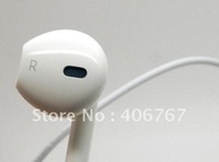 Wholesale Dhl Freeshiping 1:1 Original 3.5mm stereo earpods for ipod iPhone touch 5 5g Nano 6 earbuds 100PCS/lot