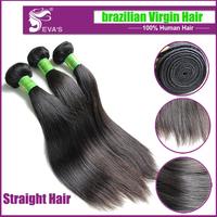 On sale 6A Brazilian virgin hair extension,brazilian straight virgin hair unprocessed hair weave,20% off for new shop