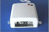 Free Shipping UV Lamp 36W 220v-240v Gel Curing Nail Art (EU Plug)with 4Pcs 365nm Light Bulb UV Nail Dryer Free Shipping(Ok-3611)
