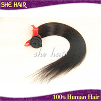 Grade AAAA queen weave beauty hot sale brazilian hair cheap brazilian straight hair 3.2-3.5oz/pcs no shedding&tangle hair weaves