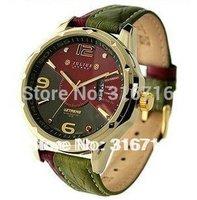 New 2014 Watches Men luxury brand JULIUS Fashion Casual Quartz Men Wristwatches,Clock Men sports  Leather Strap Watches JAH-033