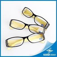 1pcs designer Reading glasses women diptor 1.0 +1.5 +2.0 +2.5 +3.0 +4.0  brand designer 2014 comfy diamond eyewear  x2001
