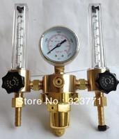 Argon regulator Dual type pressure flowmeters Superior Brass