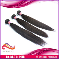 "4pcs/lot Mixed length 12""~30"" silky straight virgin peruvian human hair extension 95g~100g/pcs DHL free shipping"