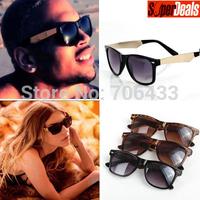 Free Dropshipping Unisex Sunglasses 2015 Fashion Super Star Black&Golden Sports Designer Glasses Frames  SG97