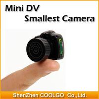 Y2000 Smallest Mini HD 640X480 Video Camera Mini DV HD Video Recorder Hidden Camera free shipping