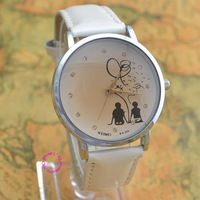 low price good quality new fashion two person women men lady girl couple love hand in hand quartz wrist watch wristwatch hour