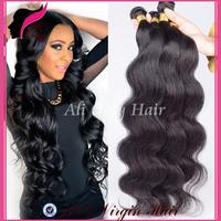 """Brazilian virgin hair body wave 8""""-30"""",brazilian hair weave bundles natural black hair 3pcs lot,cheap remy human hair extension"""