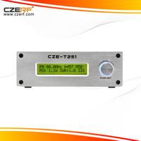 Free Shipping CZE-T251 25W 64~85MHz Long Range FM Transmitter