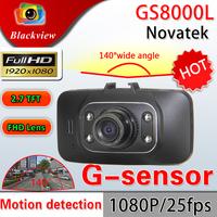 Original GS8000L Car DVR Full HD 1080P 140 degrees wide Angle 2.7inch LCD G-Sensor Vehicle Camera Video Recorder HDMI Dash Cam