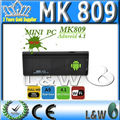 android 4.1 mini pc mk809 ii MK809 II android mini pc Dual core RK3066 and wirelessness WIFI included( 1GB RAM 8GB ROM)(China (Mainland))