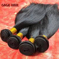 Cheap Virgin Hair,10-30inches GAGA hair products,Cheapest Peruvian Virgin Human Hair Weft Extension Natural Color Silky Straight