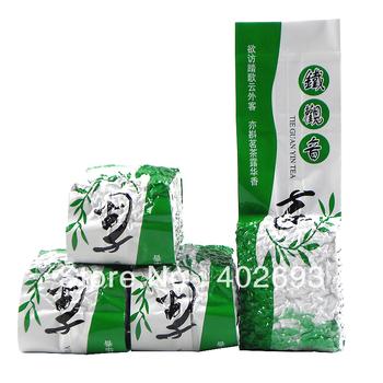 2013 spring 125g Top grade new Chinese Anxi Tieguanyin oolong tea fujian tie guan yin tea Tikuanyin health care green tea +gift