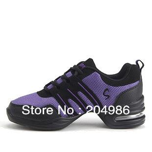 In Stock EU 35-40 Ladie's Dance Shoes Walking Shoes Modern Dance Design Sport Shoes Woman dancing Sneakers For Women SM094(China (Mainland))