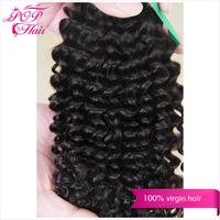 Ali POP Hair Mongolian virgin hair kinky curly Mongolian hair extension  6A kinky curly virgin hair New arrival